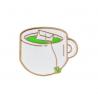 Ženkliukas žalia arbata