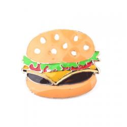 Ženkliukas dvigubas mėsainis