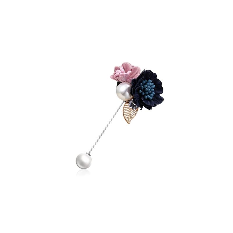 Sagė smeigtukas su gėlytėm