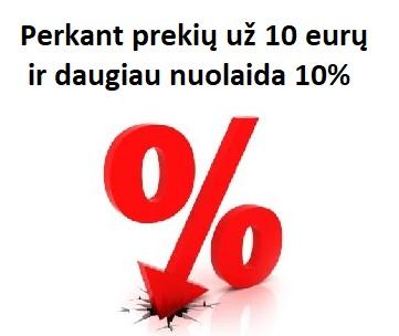 Nuolaida 10%